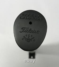 Scotty Cameron Matador Winn Oversize Jumbo Gray Grey Black Putter Grip NEW REAL