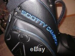 Scotty Cameron Milled Putters 2019 Back in Black Circle T Tour Only Staff Bag