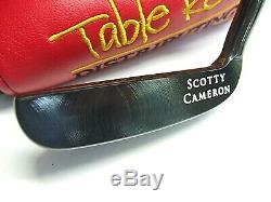 Scotty Cameron New Napa 1995 Black Oxide New