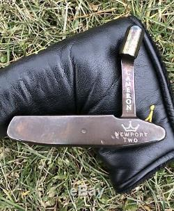 Scotty Cameron Newport 2 Two Oil Can Finish Head Only