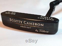 Scotty Cameron Newport Gun Blue 1995 First Run 1/500 Rare