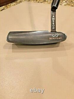 Scotty Cameron Newport Oil Can Putter 1 of 300 Only! 33/350g ALL Original