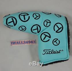 Scotty Cameron Original Stitched Tiffany Circle T Putter HeadCover CT Noob