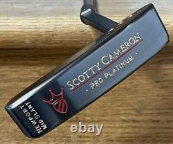 Scotty Cameron Pro Platinum Newport Mid Slant Putter MINT Xtreme Dark Finish