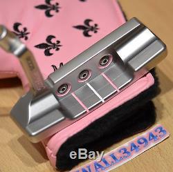 Scotty Cameron Putter 2008 Fleur DE Lis Button Back Newport My Girl Pink RH GiP
