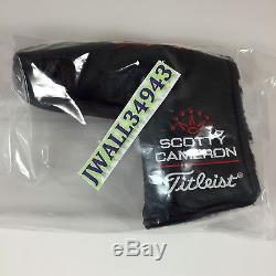 Scotty Cameron Putter HeadCover Jersey Devil 1/36 Tri-State Collector Head Cover