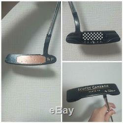 Scotty Cameron SANTA FE Tel3 Trilayered Putter Titleist Golf Japan 35 inch
