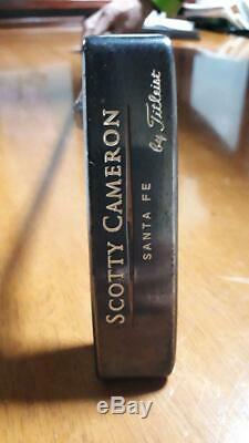 Scotty Cameron Santa Fe Tel3 Trilayered Putter Titleist Golf 35 inch