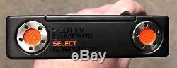 Scotty Cameron Select Newport 2.5 Putter New RH Tour Black Finish -RSI