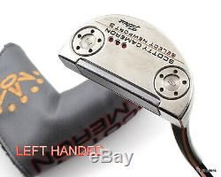 Scotty Cameron Select Newport 3 Putter Steel 34 Cover Left Handed G2831