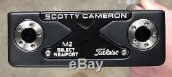 Scotty Cameron Select Newport M2 Putter NICE RH Tour Black Finish MSS