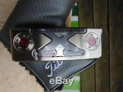 Scotty Cameron Select X Newport M2 33 Putter Headcover NEW