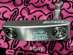 Scotty Cameron Special Select NEWPORT Putter 34 inch Custom By Chris Finch