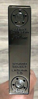 Scotty Cameron Studio Select Laguna 1.5 Putter Murdered Xtreme Dark Finish