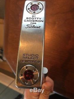 Scotty Cameron Studio Select Newport 2 35 Circle T Putter