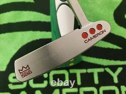 Scotty Cameron Studio Select Newport First of 500 Putter 35 MINTY
