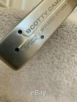 Scotty Cameron Studio Stainless Newport 2 - 34 Putter Mint Condition Rh