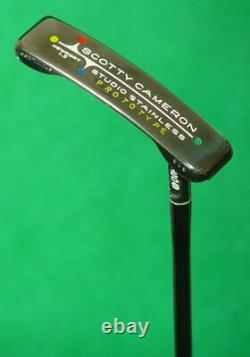 Scotty Cameron Studio Stainless Prototype Newport 1.5 34.5 Putter with COA