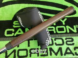 Scotty Cameron Studio Style Newport 2.5 GSS First of 500 Black Putter 35-330G