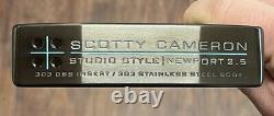 Scotty Cameron Studio Style Newport 2.5 Putter GSS Xtreme Dark Finish -APTPE