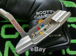 Scotty Cameron Studio Style Newport 2 GSS Putter 35-330G ALL ORIGINAL MUST SEE