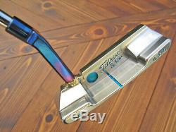 Scotty Cameron TITLEIST & CO. Tour Only GSS Newport 2 Tri-Sole Welded BLUE NECK