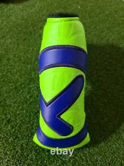 Scotty Cameron TOUR BULL DOG Industrial Circle T TOUR Putter Headcover LIME/BLUE