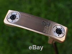 Scotty Cameron TOUR ONLY Concept 1 Tour Rat Chromatic Bronze Black Shaft 360G