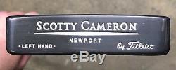 Scotty Cameron Teryllium Newport Putter Mint Left Hand -1995 -TEI3 SA