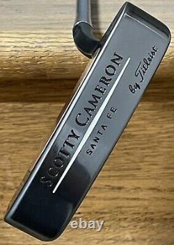 Scotty Cameron Teryllium Santa Fe Putter NICE Xtreme Dark DLC Finish ILS