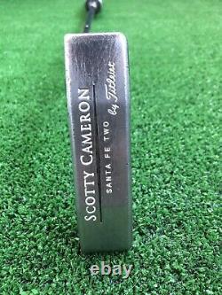 Scotty Cameron Teryllium Santa Fe Two TeI3 Face Stamp 34 Putter Fatso 5.0 RH