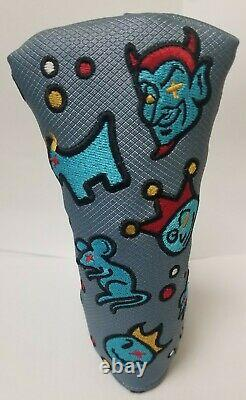 Scotty Cameron The Motley Crew Putter Cover New
