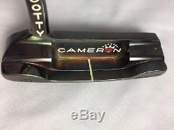 Scotty Cameron Titleist Black Pearl Newport 1.5 Prototype Black Shaft
