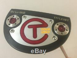 Scotty Cameron Titleist GoLo MID Tour Only Circle T Putter 35 with HC