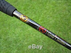 Scotty Cameron Tour Black Masterful 009. M SSS Circle T 350G WELDED CENTERSHAFT