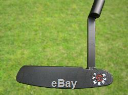 Scotty Cameron Tour Black SSS Newport WELDED Long Neck Handstamped Circle T 34
