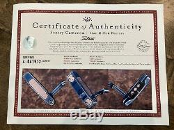 Scotty Cameron Tour Only BLUE PEARL Masterful Super Rat Circle T GSS 34 360G
