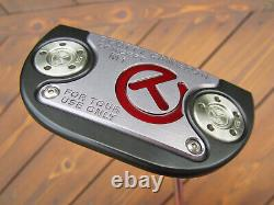 Scotty Cameron Tour Only Black M1 Mallet #1 Circle T Prototype TOP LINE 34 350G