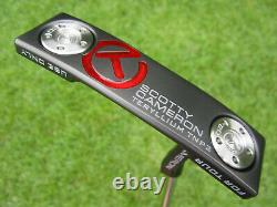 Scotty Cameron Tour Only Black T22 Newport 2 Terylium CIRCLE T 34 360G