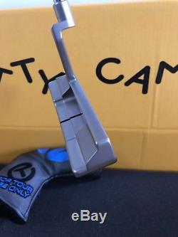 Scotty Cameron Tour Only Concept 2 Blue Insert Headcover Putter Golf Circle T