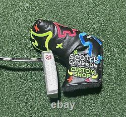 Scotty Cameron Tour Only GOLO 6 PROTO TOURTYPE Circle T 34 COA +NEW Cover