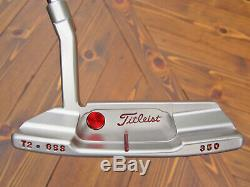 Scotty Cameron Tour Only GSS Newport 2 Timeless T2 Circle T 350G TIGER WOODS
