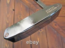Scotty Cameron Tour Only Newport 2 BEACH Circle T BLACK PEARL SNOW & SMILEY