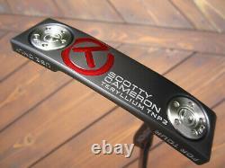 Scotty Cameron Tour Only Newport 2 T22 Teryllium Circle T BLACK SHAFT 34 360G
