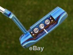 Scotty Cameron Tour Only SUPER RAT Masterful 009M GSS Inlay BLUE PEARL MIST 360G