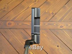 Scotty Cameron Tour Only TRI-SOLE Black Newport 2 SSS HAND STAMPED Circle T 340G