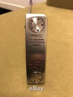 Scotty Cameron Xperimental Holiday Prototype Newport1.5 20g X2 Tour Putter