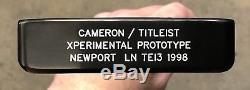 Scotty Cameron Xperimental Prototype Newport Long Neck TEI3 Putter MINT -CCG