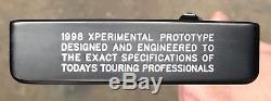 Scotty Cameron Xperimental Prototype Tei3 Mid Slant Putter -New -Tour Black -MSR