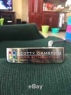 Scotty Cameron studio style newport 303 GSS insert, RARE